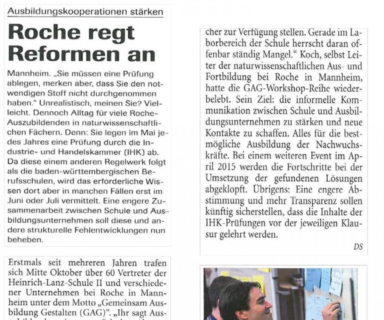 Roche-Bericht-Mitarbeiterzeitung